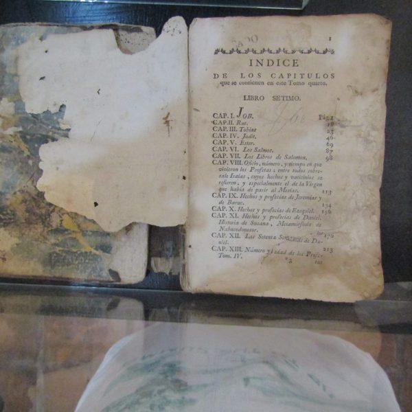HISTORIA DEL VIEJO Y NUEVO TESTAMENTO DE 1784